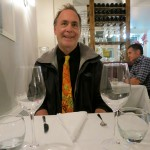 Me, at Restaurant Mariette, the best in Paris!